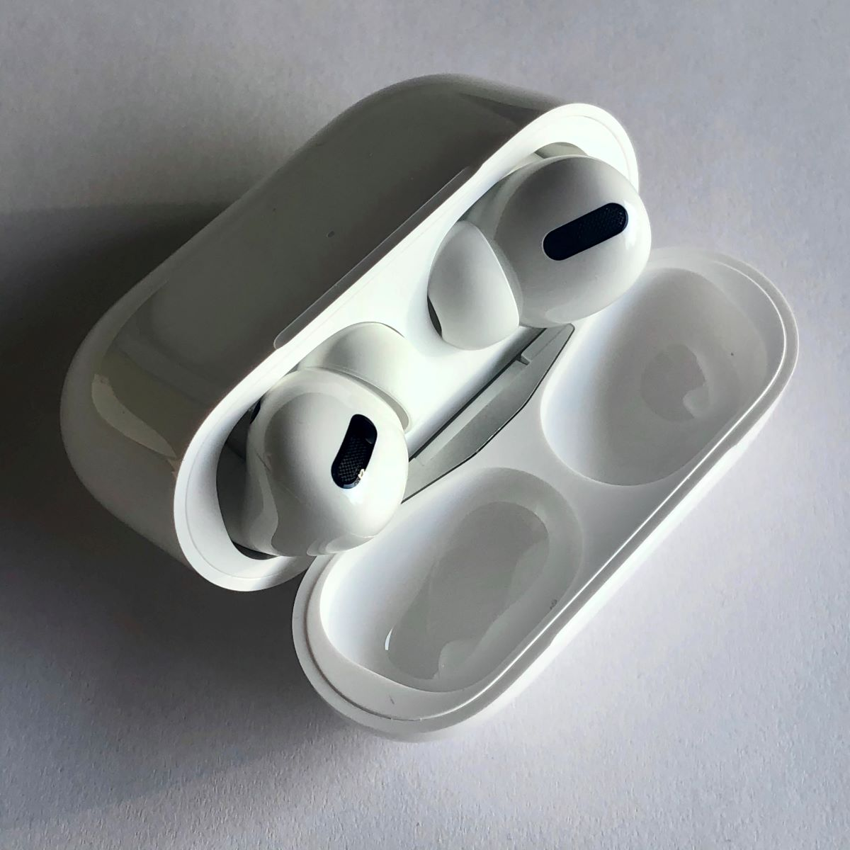 Air pods Pro in their case
