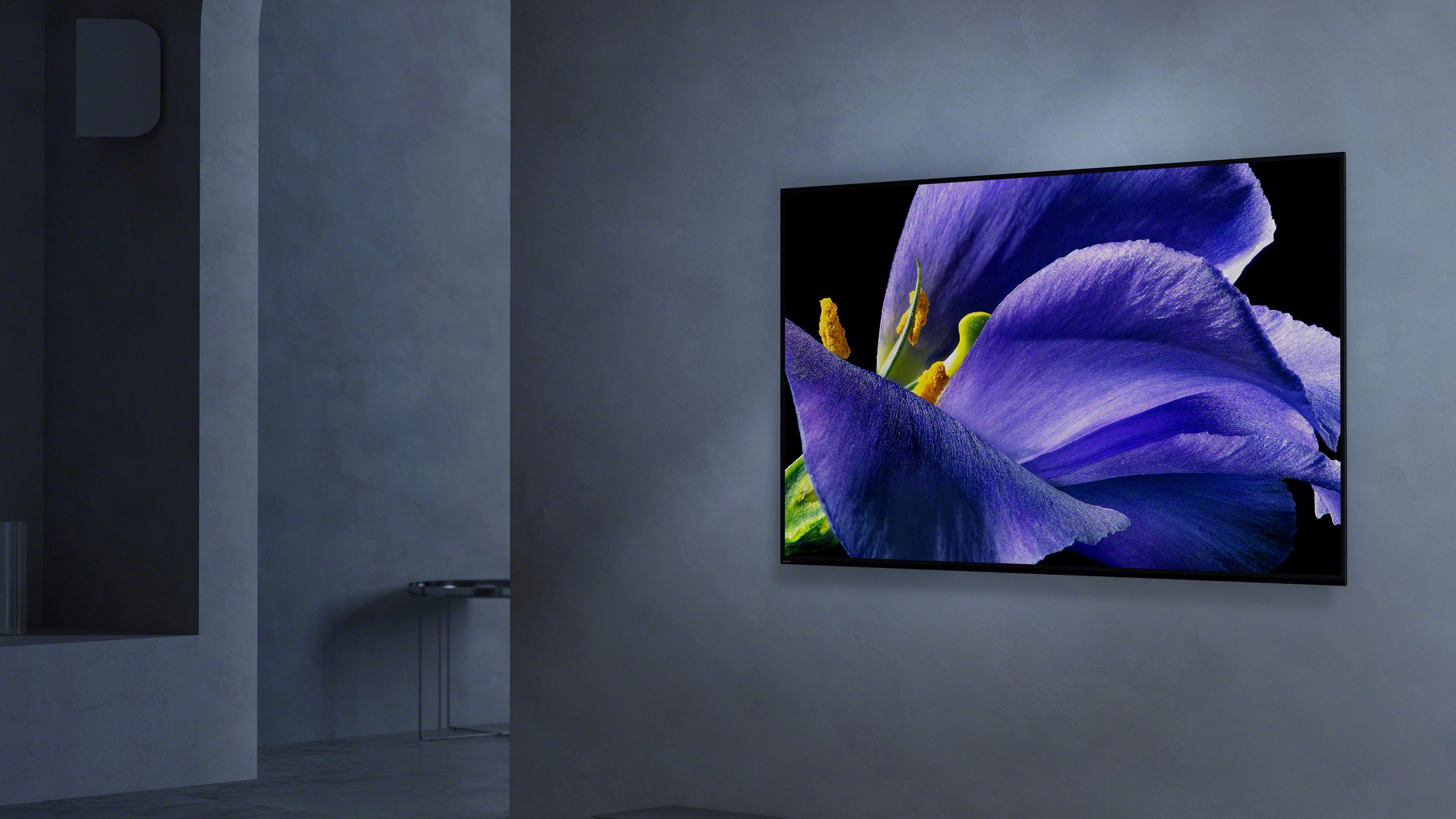TV Screen on a wall