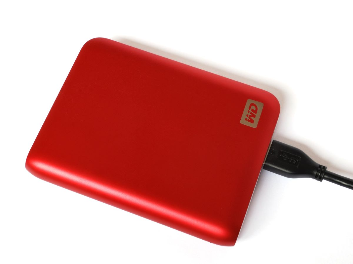 WD portable drive