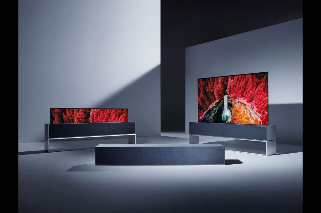 tvs in a room