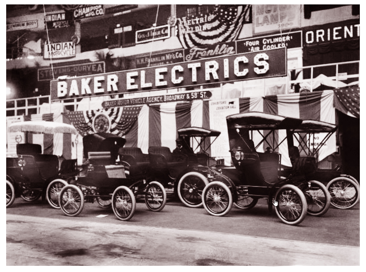 Baker electric cars