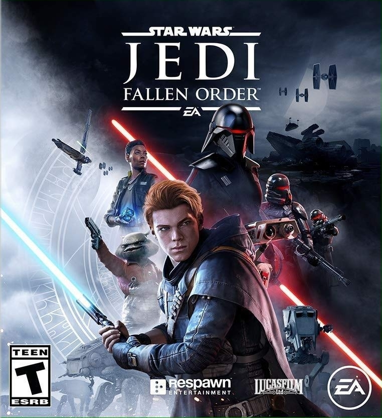 Star Wars game cover